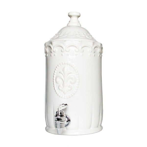 American Atelier Bianca White Beverage Dispenser