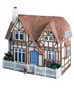 The Glencroft Wooden Unpainted Dollhouse Kit - Thumbnail 0
