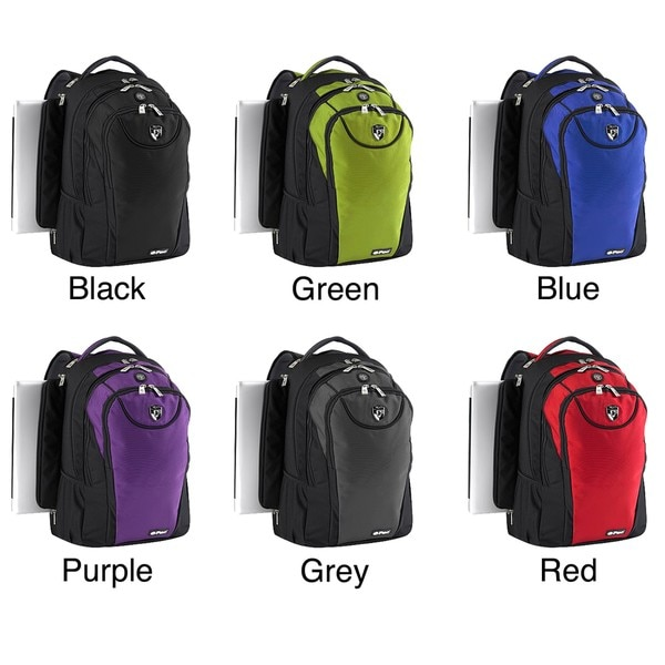 14-inch Heys USA ePac03 Polyester Laptop Backpack with S-shaped Straps