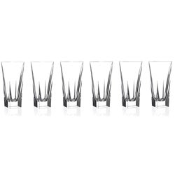 Logic Collection Crystal Highball Glasses (Set of 6)