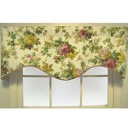 Rose Garden Cornice Valance