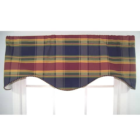 Buy Plaid Rlf Home Valances Online At Overstock Our Best