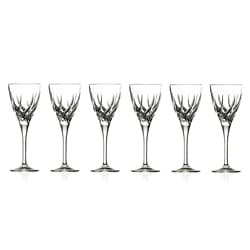 Trix Collection Crystal Wine Glasses (Set of 6)