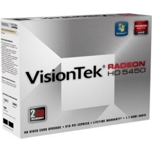 VisionTek 900356 Radeon HD 5450 Graphic Card - 2 GB DDR3 SDRAM
