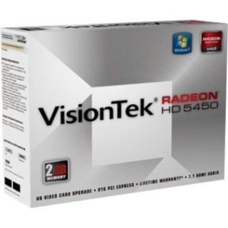 Visiontek 900356 Radeon HD 5450 Graphic Card - 2 GB DDR3 SDRAM - PCI