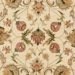 Safavieh Handmade Eden Ivory Hand-spun Wool Rug (6' Round) - Thumbnail 2