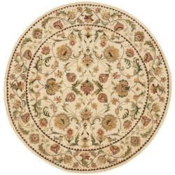 Safavieh Handmade Eden Ivory Hand-spun Wool Rug (6' Round)