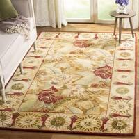 Safavieh Handmade Autumn Multi Hand-spun Wool Rug - 4' x 6'