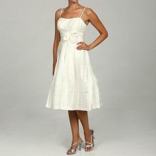 Eliza J Women's Ivy Embellished Waist Dress FINAL SALE