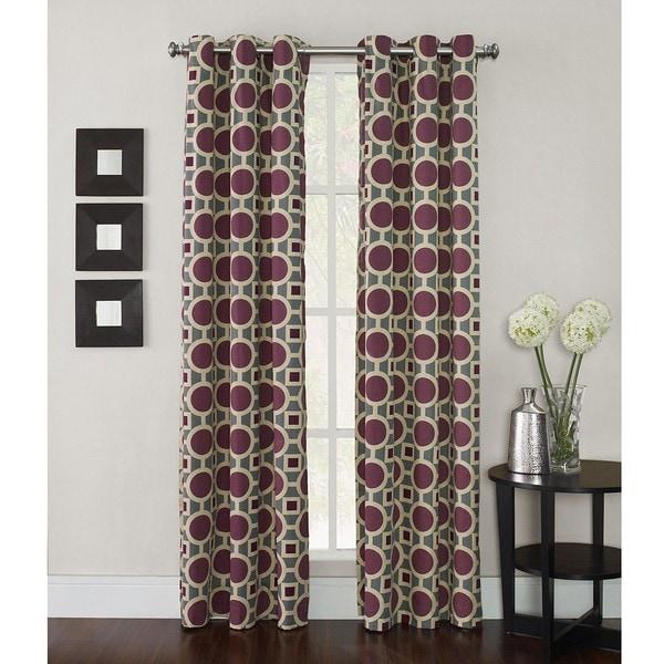 Geometric 63-inch Conspiracy Curtain Panel