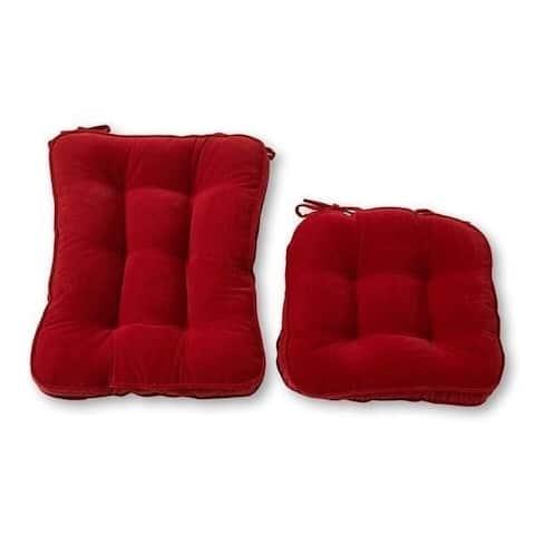 Greendale Home Fashions Scarlet Hyatt Rocking Chair Cushion Set