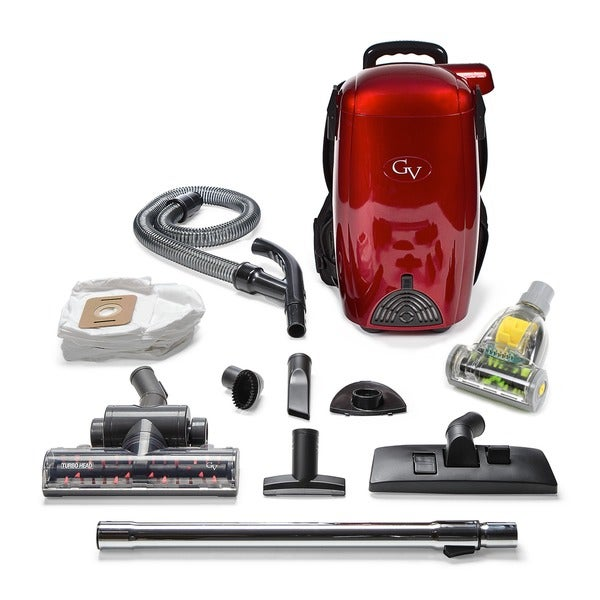 GV 8 Qt Light Powerful HEPA BackPack Vacuum