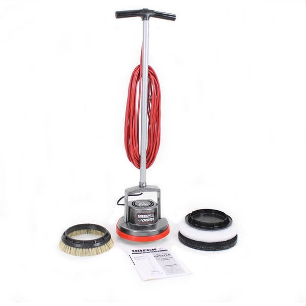 Oreck orbiter hard floor buffer polisher refurbished for 15 inch floor buffer