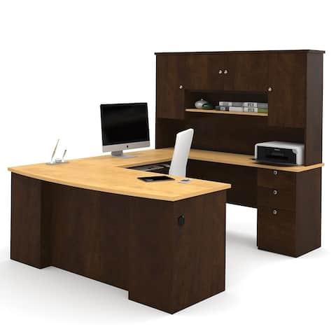 Bestar Manhattan U-shaped Workstation Desk