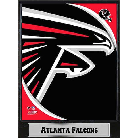 Atlanta Falcons 9x12 Logo Plaque