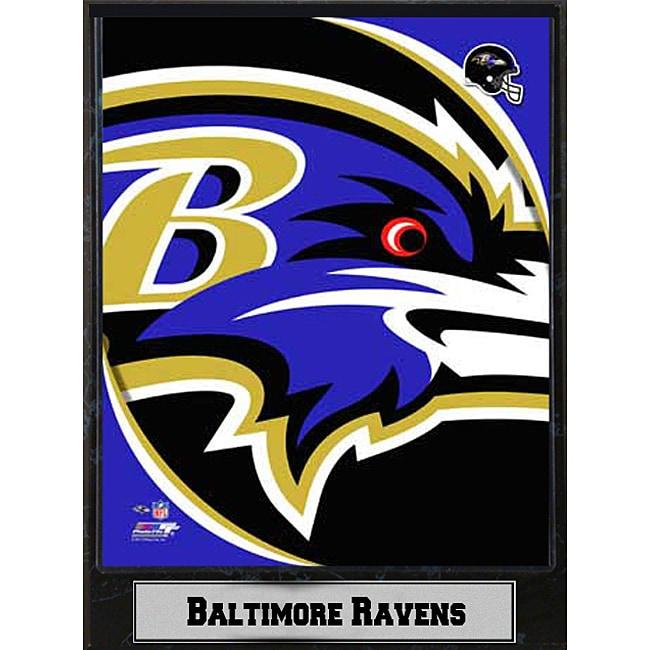 2011 Baltimore Ravens Logo Plaque