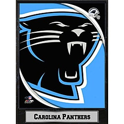 2011 Carolina Panthers Logo Plaque