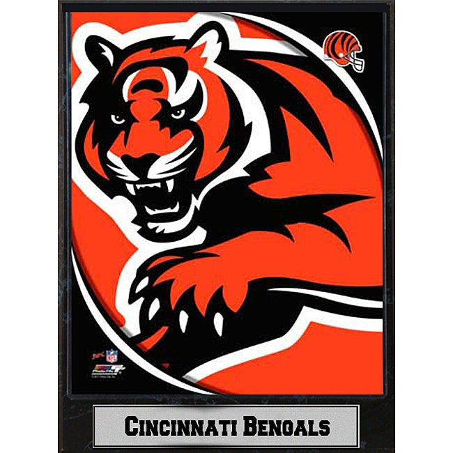 2011 Cincinnati Bengals Logo Plaque
