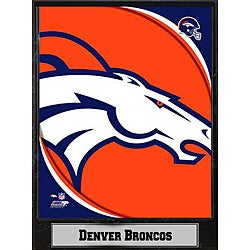 2011 Denver Broncos Logo Plaque