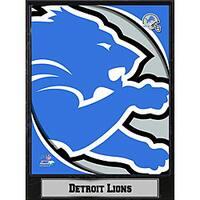 2011 Detroit Lions Logo Plaque