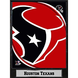 2011 Houston Texans Logo Plaque