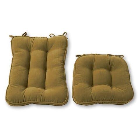 Greendale Home Fashions Moss Hyatt Rocking Chair Cushion Set