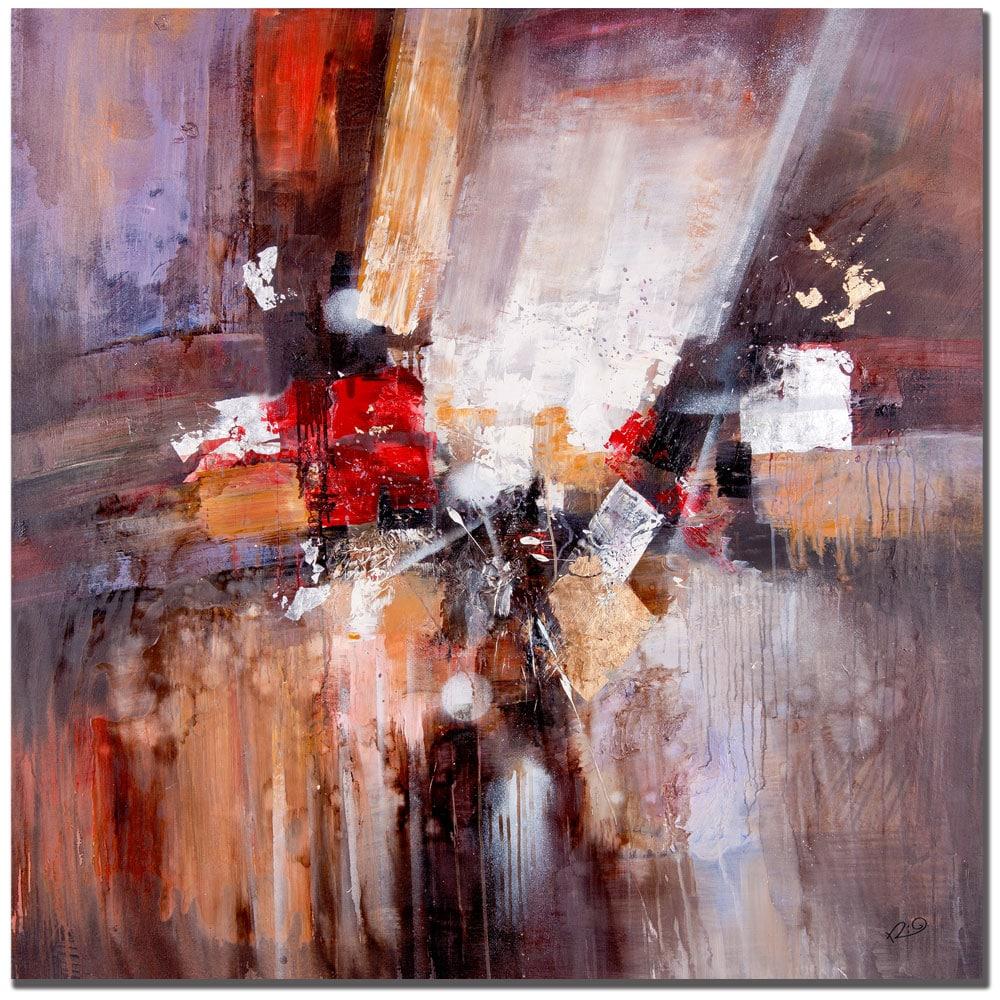 Rio 'Cube Abstract II' Canvas Art