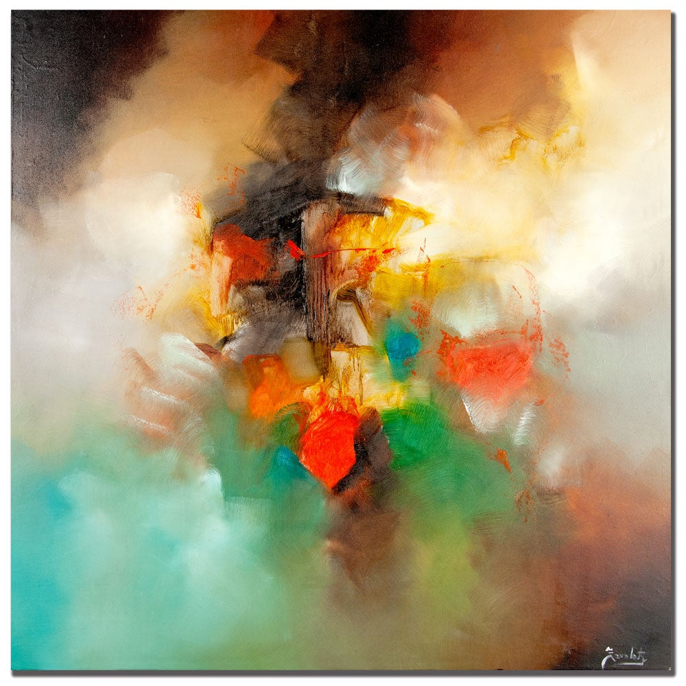Zavaleta 'Abstract I' Canvas Art