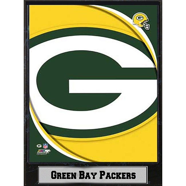 2011 Green Bay Packers Logo Plaque