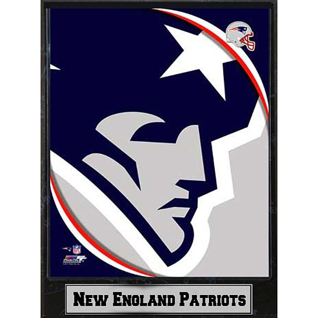 2011 New England Patriots Logo Ready-to-hang Commemorative Plaque