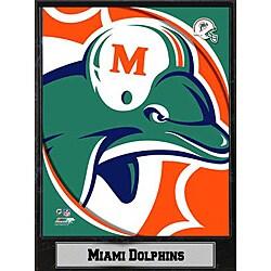 2011 Miami Dolphins Logo Plaque
