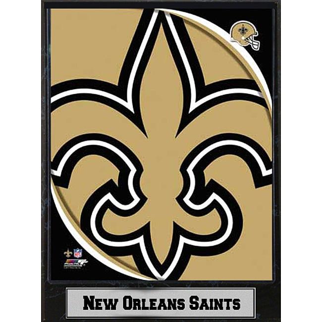 2011 New Orleans Saints Logo Plaque