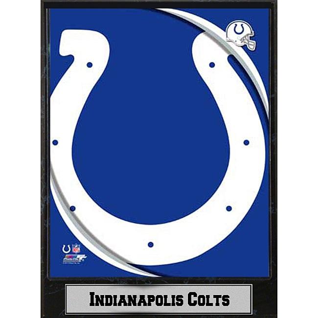 2011 Indianapolis Colts Logo Plaque