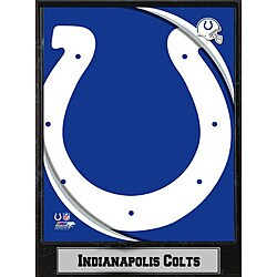 2011 Indianapolis Colts Logo Plaque