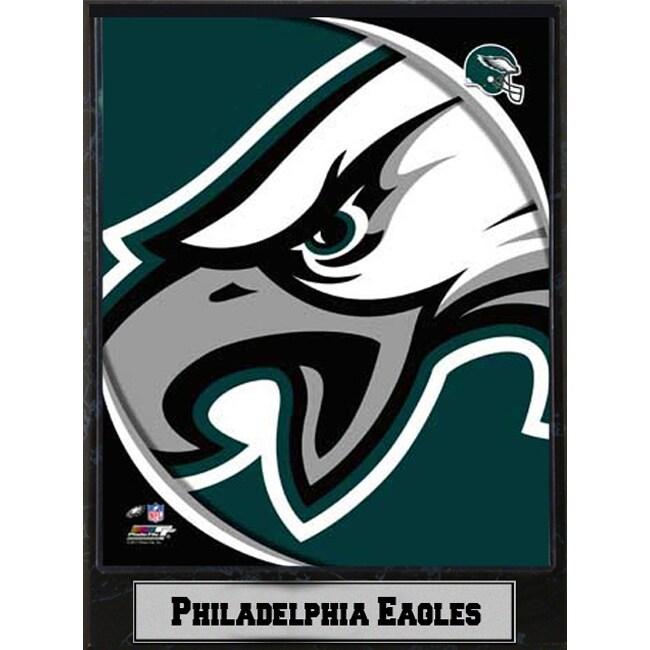 2011 Philadelphia Eagles Logo Plaque (9 x 12)