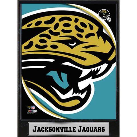 2011 Jacksonville Jaguars Logo Plaque (9 x 12)