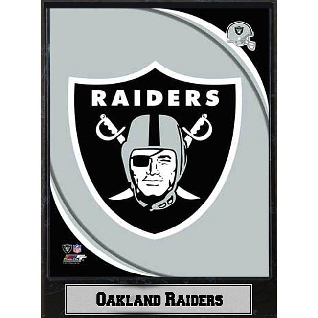 2011 Oakland Raiders Logo Plaque