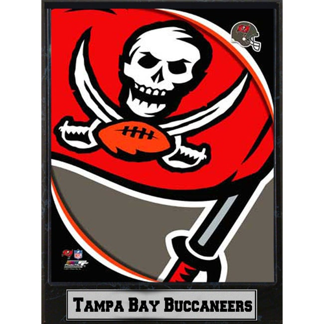 2011 Tampa Bay Buccaneers Logo Plaque (9 x 12) - Thumbnail 0
