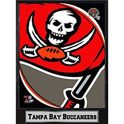 2011 Tampa Bay Buccaneers Logo Plaque (9 x 12)