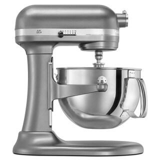 KitchenAid RKP26M1XCU Contour Silver 6-quart Pro 600 Bowl-Lift Stand Mixer (Refurbished)