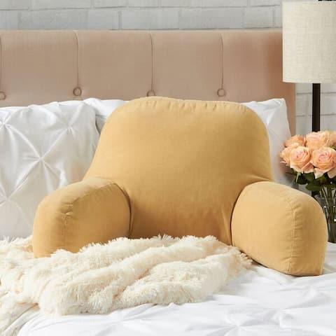 Greendale Home Fashions Cream Hyatt Bed Rest Pillow