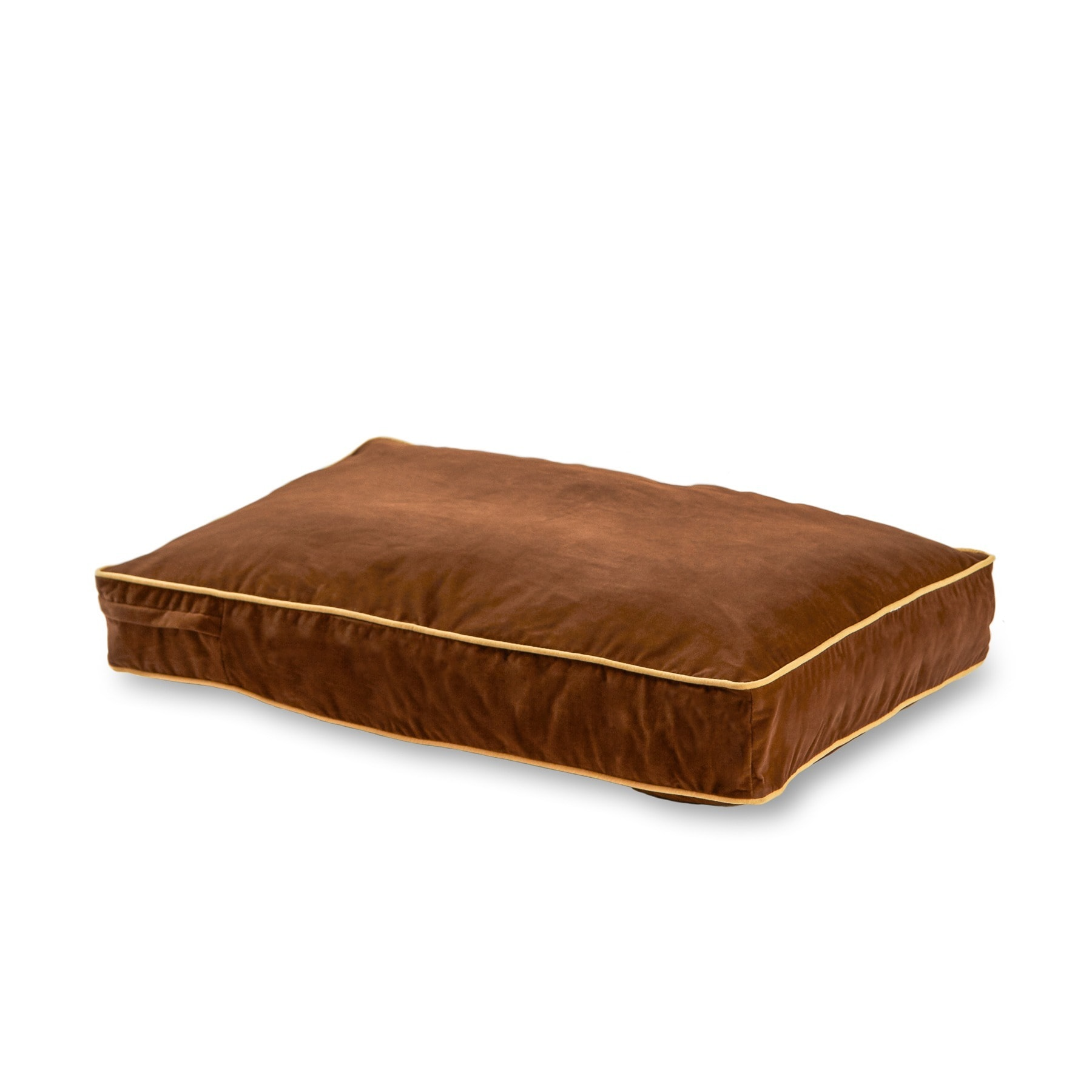 Busby Cocoa Dog Bed (Extra Small (18 x 24)), Brown