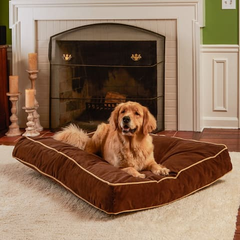 Happy Hounds Busby Cocoa Dog Bed