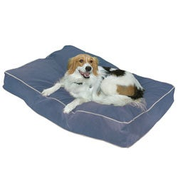 Busby Extra Small (18 x 24) Denim Dog Bed