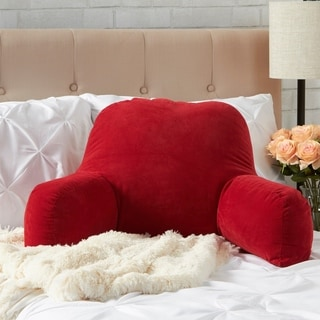 Scarlet Nylon Microfiber Bed Rest