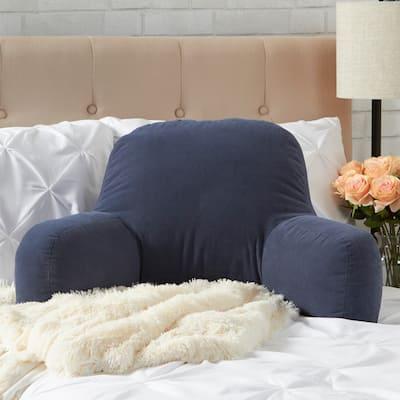 Greendale Home Fashions Blue Hyatt Bed Rest Pillow