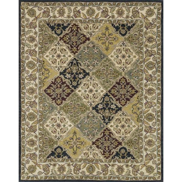 Hand-tufted Mason Multi Wool Rug (7'9 x 9'9)
