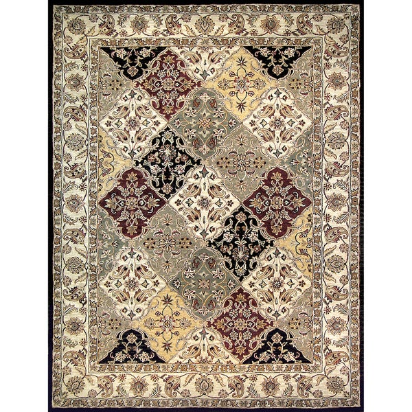 Hand-tufted Mason Multi Wool Rug (5' x 7'6)