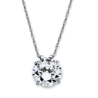 10k White Gold Cubic Zirconia Solitaire Pendant and Rope Chain|https://ak1.ostkcdn.com/images/products/6131548/P13794577.jpg?impolicy=medium
