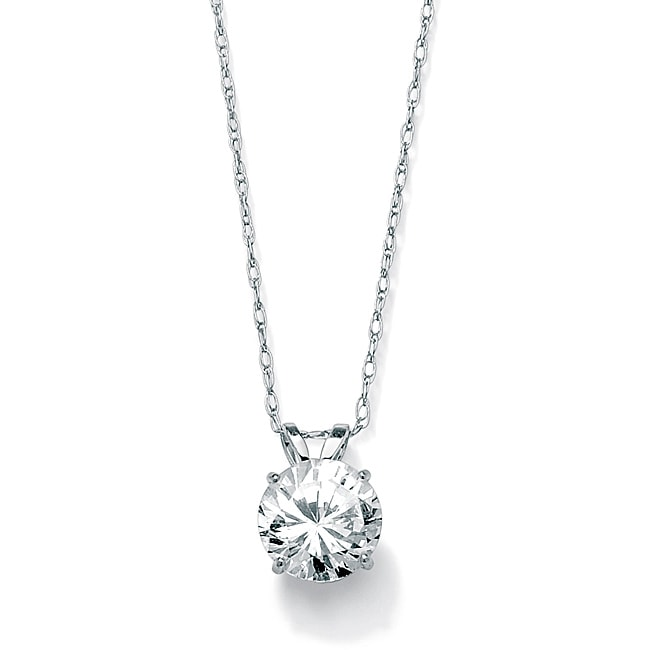 diamond in white necklace gold carat simons solitaire ross products